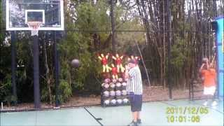 Perfect 3 point challenge, 15 pts. Busch Gardens Tampa No misses