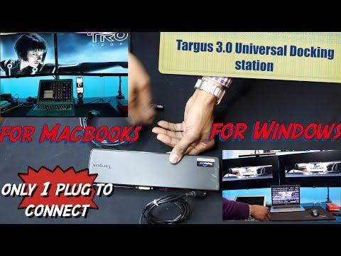 Targus 3.0 Universal Docking Station For Windows And Mac- HERVEs WORLD-Episode 263