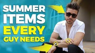Summer Essentials EVERY Guy NEEDS This Season 2019 | Alex Costa