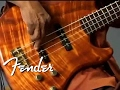 Fender® Victor Bailey Signature Basses | Fender