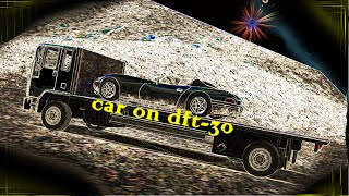 Grand Theft Auto San Andreas Trick putting a Car on the DFT-30