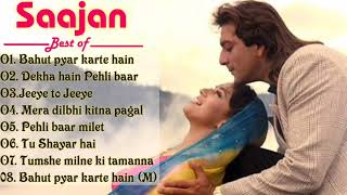 Download Mp3 Mera dil bhi kitna pagal bahut pyar karte hain Best Of saajan film Sanjay dutt Madhuri dixit
