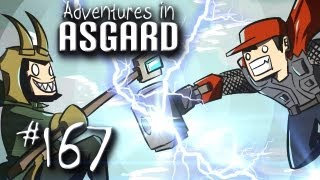 "Adventures in Asgard w/ Nova & Kootra - Ep. 167 ""Pink Trees Galore"" (Minecraft)"