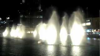 Dubai fountain (Lionel Richie) - All Night Long.
