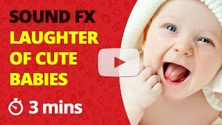 Baby Laughing Sound Effect Cute Babies Laugh and Giggling Sounds Baby's Giggle SFX Short