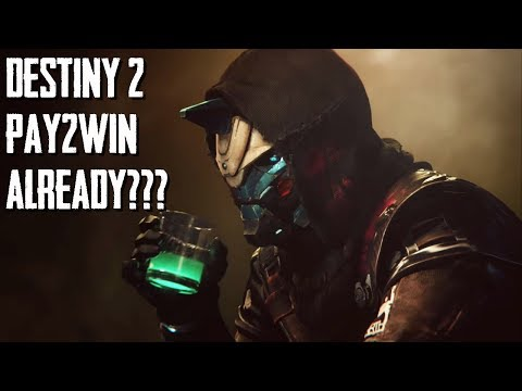Destiny 2 Bungie Pay 2 Win Already Lets Find Out
