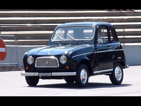 very rare renault 4l prototype unique youtube. Black Bedroom Furniture Sets. Home Design Ideas