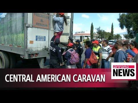 Migrant caravan moves through central Mexico, heading for U.S. border