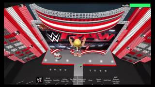 Roblox - WWE Raw Arena (Just Looking Around 6-15-2016 )
