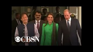 Prince WIlliam and Kate visit Imran Khan in Pakistan