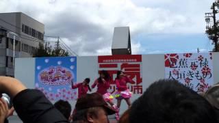 ちぇり→☆ボンボン 超絶絶賛上昇中!!! 2014.4.6 大垣元気ハツラツ市.