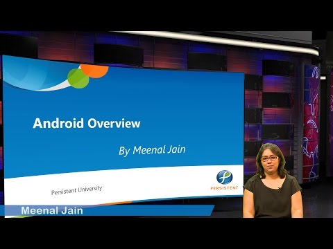 Smart India Hackathon's Massive Online Training Sessions - Overview of Android