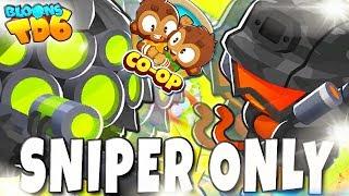 COOP   SNIPER ONLY   Bloons TD6 PL