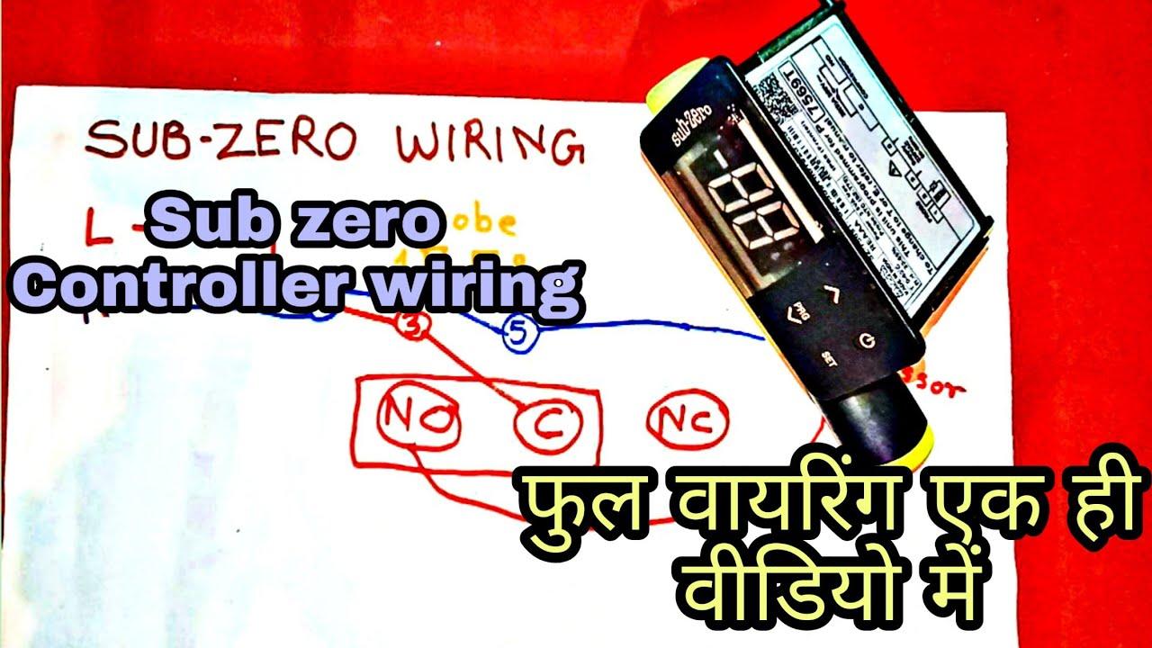 Sub Zero Wiring Diagram U0964 U0964 Subzero Temperature Controller