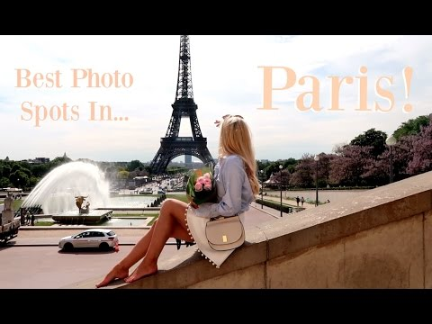 The Best Photo Spots in Paris?!?  |   Fashion Mumblr Travel Vlog