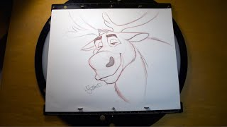 How to Draw Sven from Frozen 2 l #DrawWithDisneyAnimation
