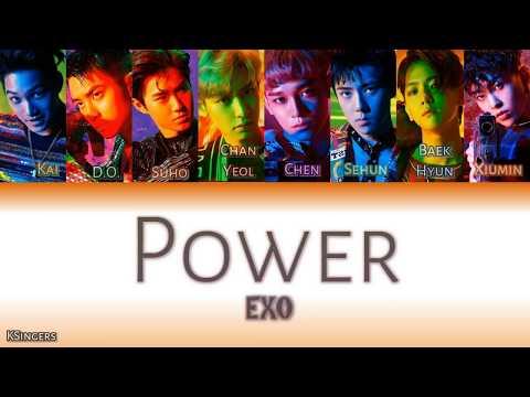 EXO - Power | Sub (Han - Rom - Español) Color Coded Letra