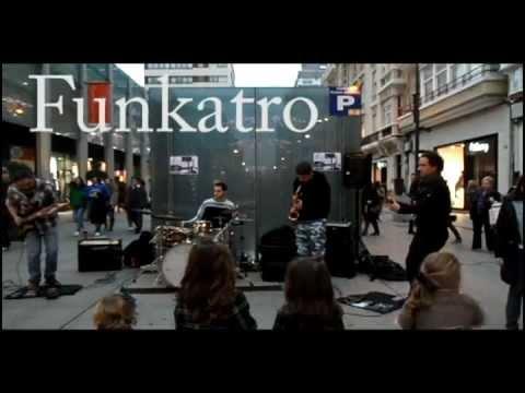 Alvaro Muras Funkatro Plaza de Lugo Coruña Funk fusión instrumental
