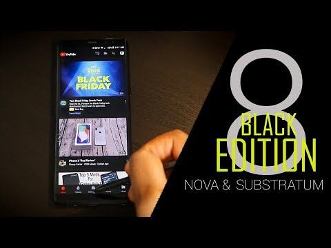 Samsung Galaxy Note 8 | My Nova Launcher Substratum Setup | Part 1