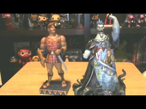 Disney's Jim Shore Hercules and Hades figurine review