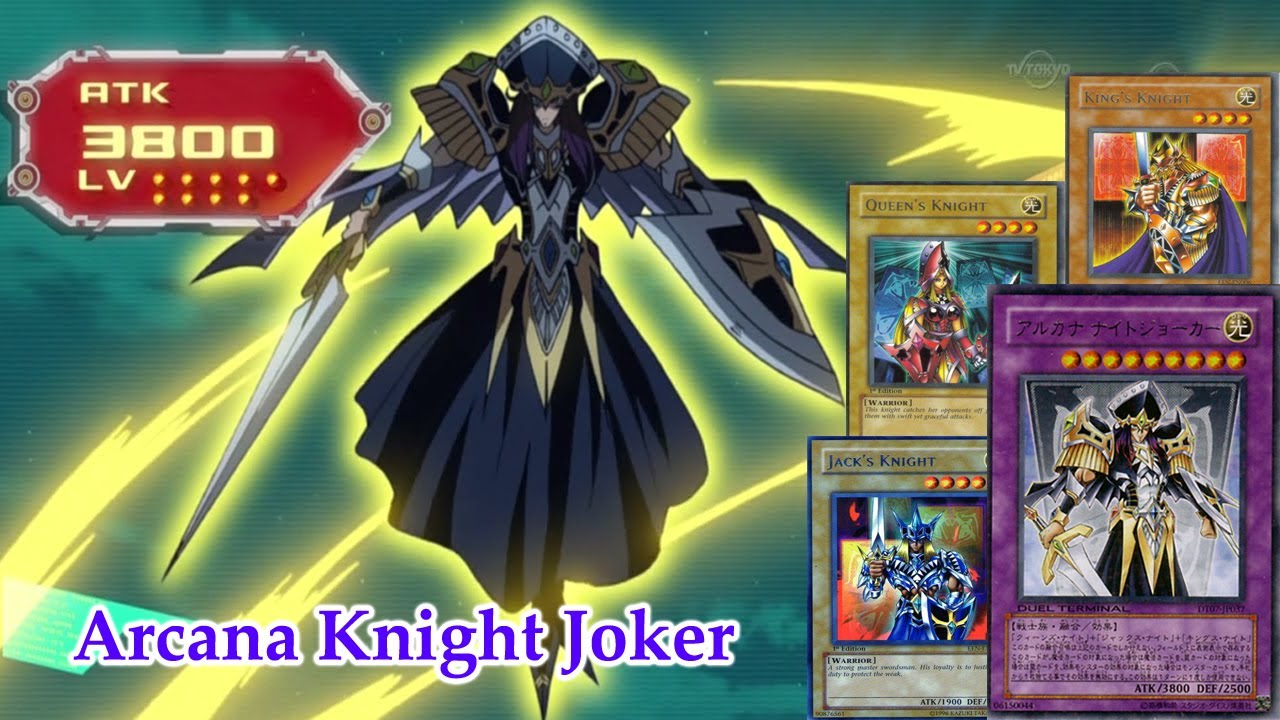 Deck Arcana Knight Joker (Christmas Request) - YGOPro - YouTube