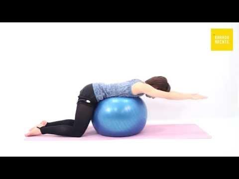 21脊柱起立筋の加圧トレーニング