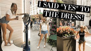 WEDDING DRESS SHOPPING IN NYC | KYLIE GRAVLEE