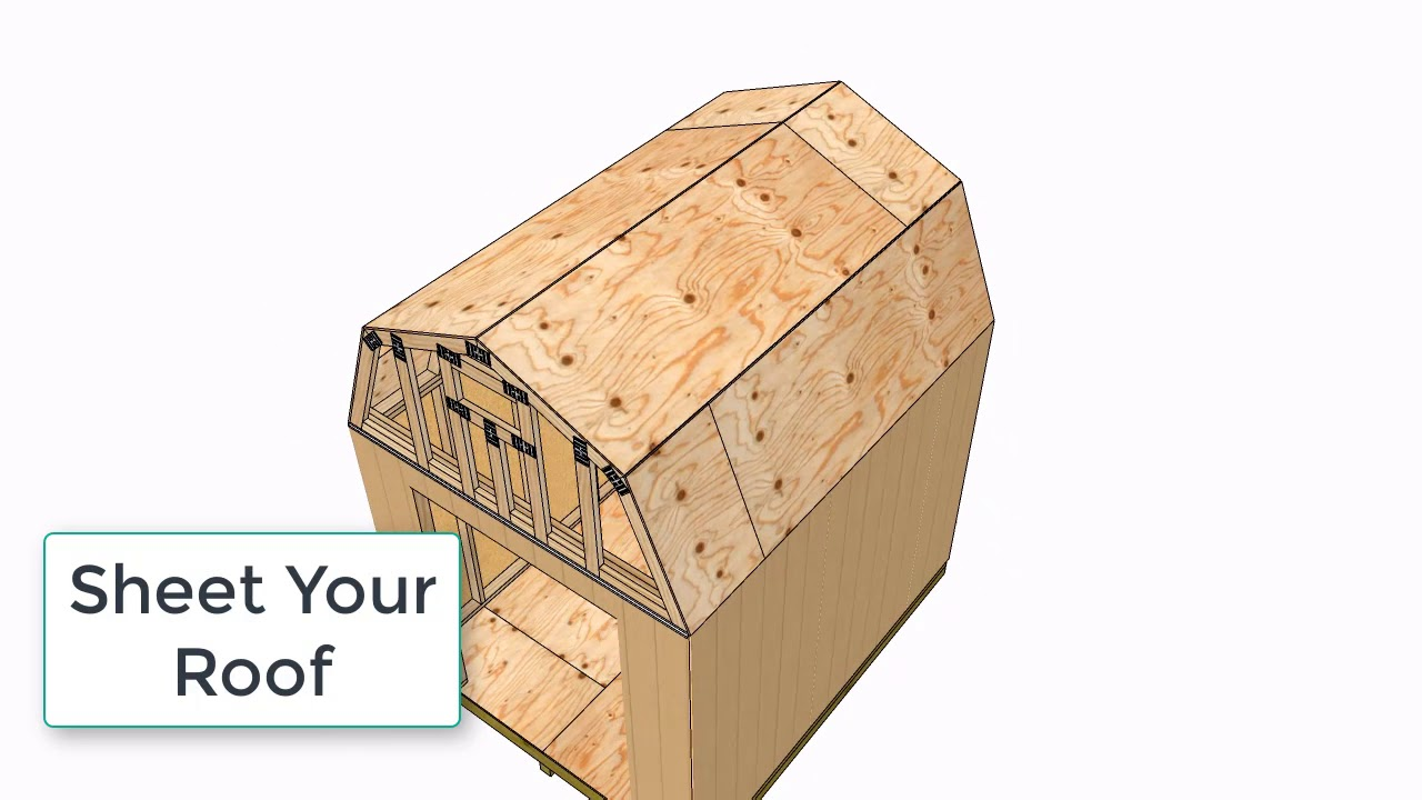 Small Barn Plans 8x10, Barn Shed Plans