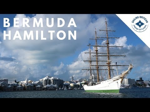 Bermuda - Anchored in Hamilton | Sailing Britican #6
