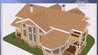 видео Проекты деревянных домов