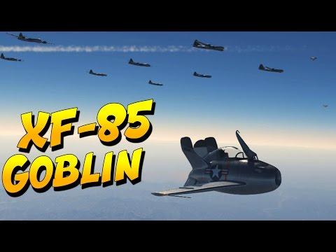 War Thunder XF-85 Goblin Jet (War Thunder Jet Gameplay)