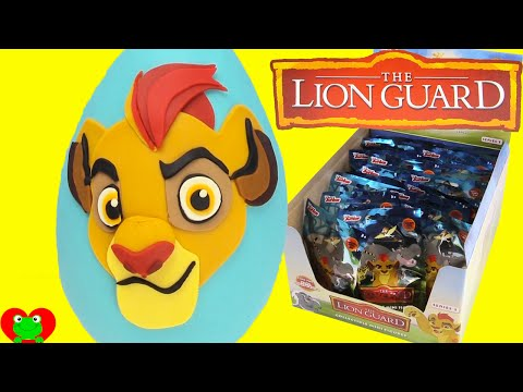 Disney Lion Guard Kion Play Doh Surprise Egg and Blind Bags