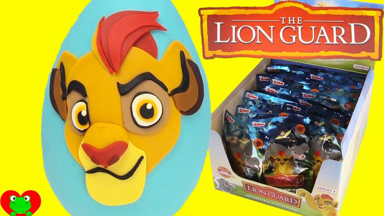 Disney Lion Guard Kion Play Doh Surprise Egg And Blind