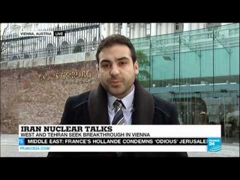 Milad Jokar - Iran nuclear talks Vienna - 18 Nov. 2014