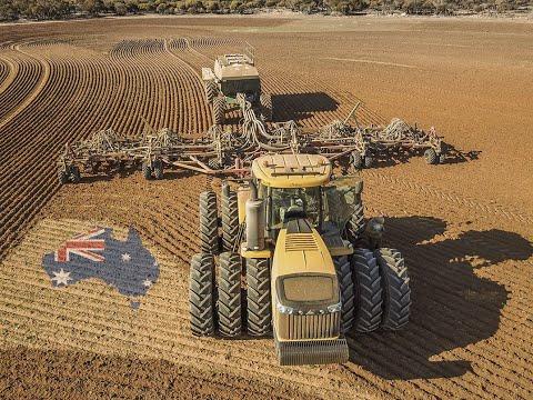 🇦🇺 FARMING IN AUSTRALIA | Seeding | Sugar Cane Harvest | Kelly Diamond Harrow | Caterpillar, etc ...