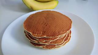 СУПЕР-вкусные банановые ПАНКЕЙКИ: рецепт