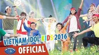 vietnam idol kids 2016 - gala 6 - sac mau trai cay - top 5