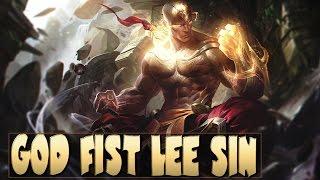 GOD FIST LEE SIN Legendary Skin Gameplay Spotlight - League of Legends