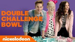 The Double Challenge Bowl ft. JoJo Siwa, Lizzy Greene &amp More!  #NickStarsIRL