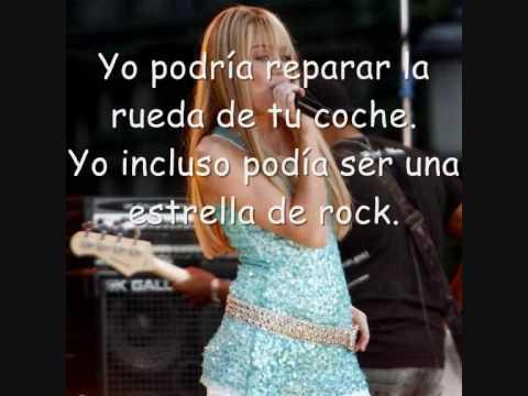 Rockstar -Hannah Montana 2 (En Español)