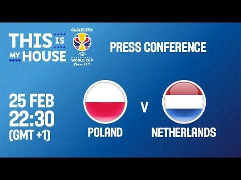 Poland v Netherlands - Press Conference