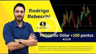 HEDGE no Dólar +100 pontos