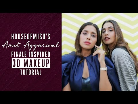 House of Misu's Amit Aggarwal  LFW Finale Inspired Makeup Tutorial
