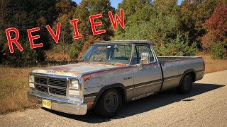 1992 Dodge Ram 150 Review