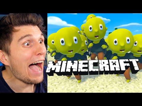 Paluten REAGIERT auf Minecraft MOBS programmieren