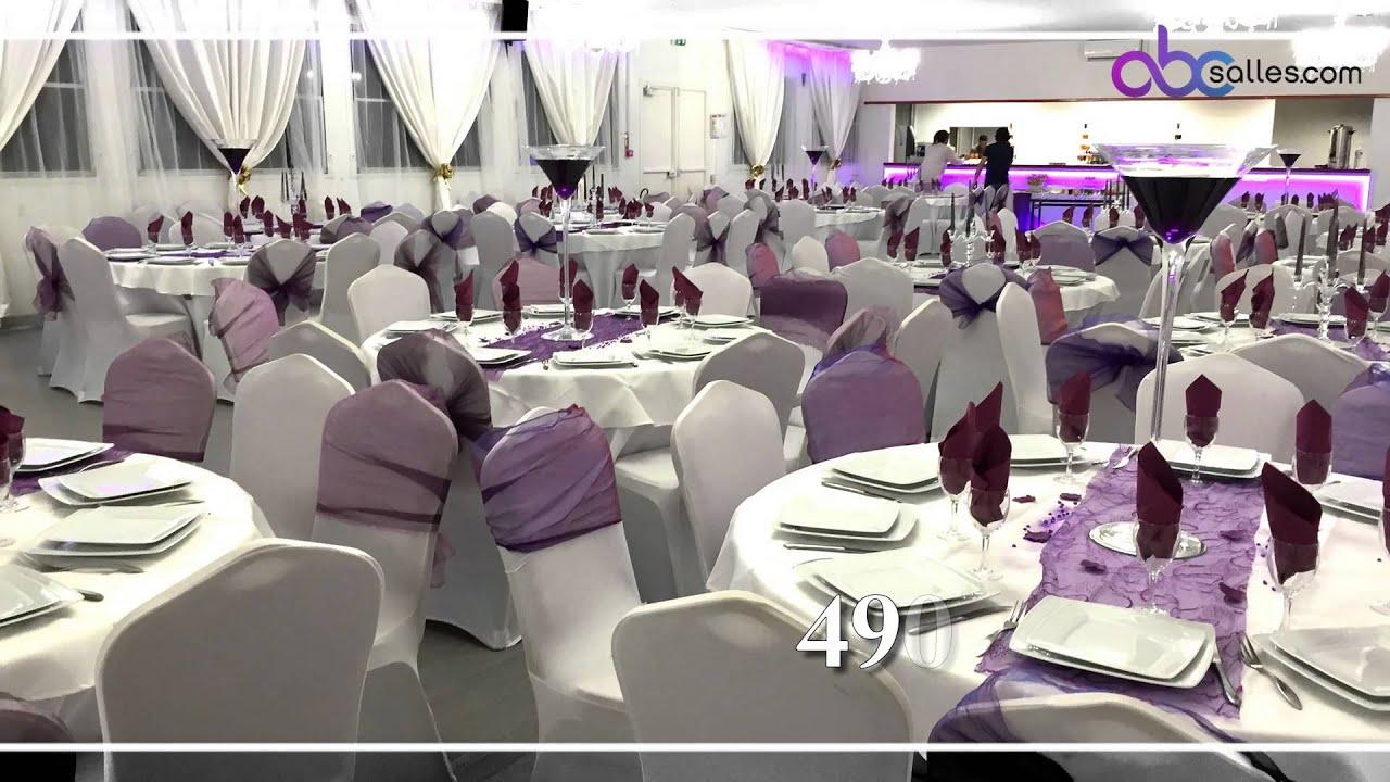 Les salons beauchamp 95250 beauchamp location de salle - Table 18 personnes ...