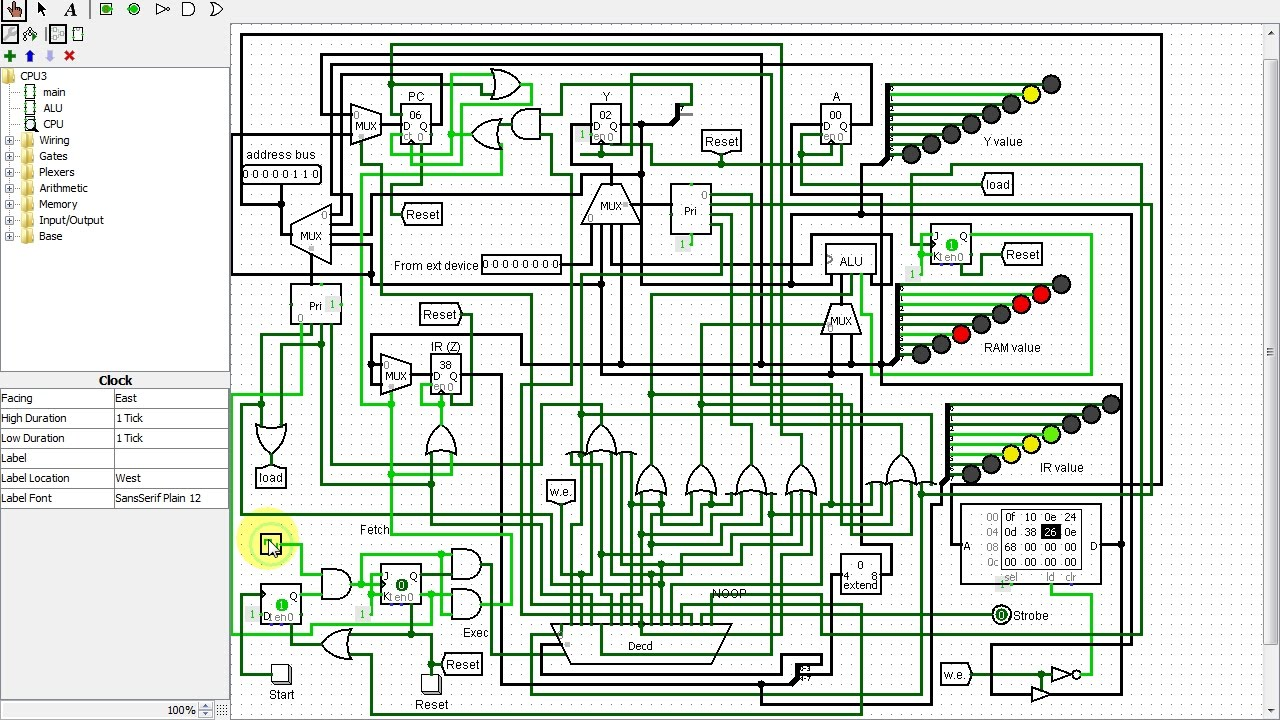 Logic Gate Cpu Schematic Wiring Diagrams And Diagram Home Single Input Nor
