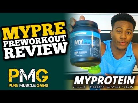 MyProtein MyPRE Supplement Review | Blue Raspberry