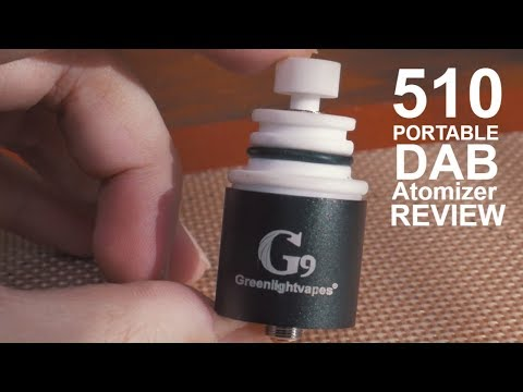 G9 | The Portable 510 Electic Dab Rig by Greenlightvapes | Stoner Warez Review  🤓
