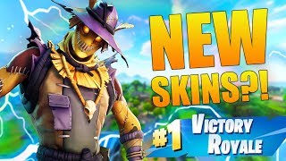 New Halloween Skins Gameplay! Straw Ops and Hay Man! - Fortnite: Battle Royale Gameplay